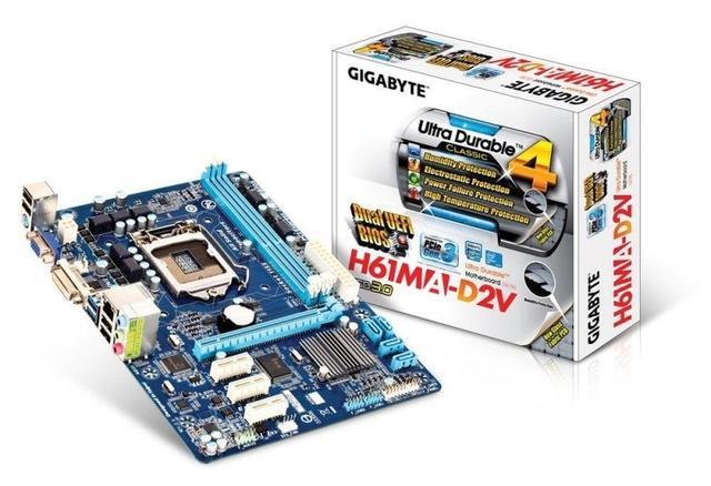 GA-H61MA-D2V - najtańsza płyta GIGABYTE z obsługą USB 3.0