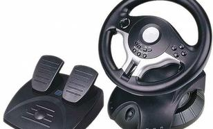 GEMBIRD Kierownica RACEFORCE USB (PC)
