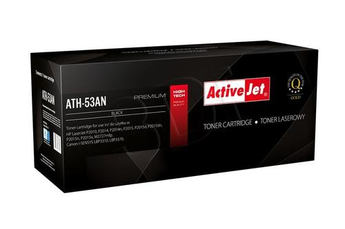 ActiveJet ATH-53AN czarny toner do drukarki laserowej HP (zamiennik 53A Q7553A) Premium