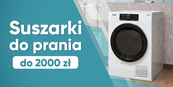 Jaka tania suszarka do prania do 2000 zł?  TOP 10 