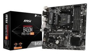 MSI B450M PRO-VDH MAX - RATY 0%