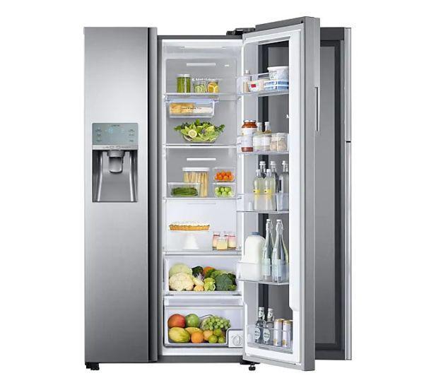 Samsung RH58K6598SL wnętrze lodówka w lodówce