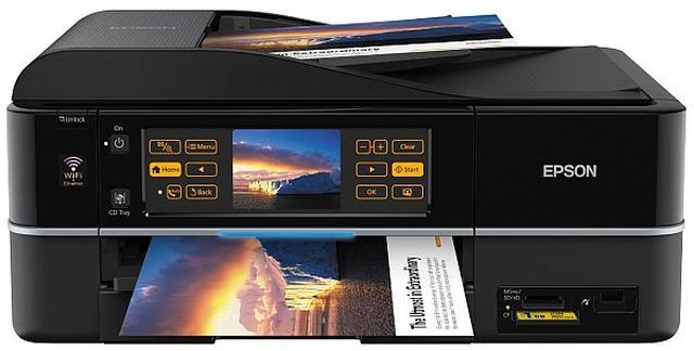 7,6-calowy ekran i Wi-Fi w drukarce Epsona