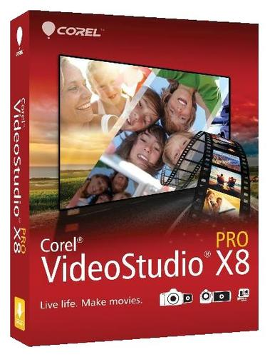 Corel VideoStudio Pro X8 ML miniBox VSPRX8MLMBEU