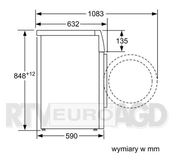 Siemens iQ700 sensoFresh WM12W790PL