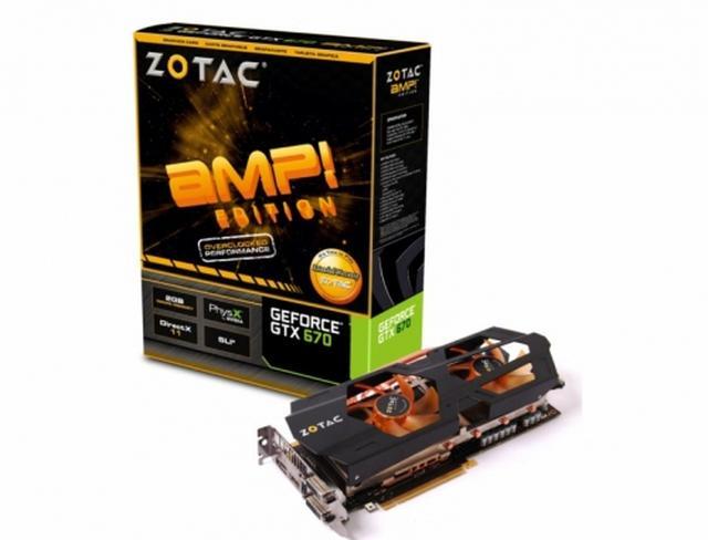 ZOTAC przedstawia karty graficzne ZOTAC GeForce GTX 670 i ZOTAC GeForce GTX 670 AMP! Edition