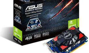 Asus GeForce GT 730 4GB GDDR3 (128 bit) HDMI, DVI, D-Sub (GT730-4GD3)