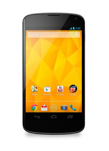 LG wprowadza smartfon Nexus 4 w kolorze białym