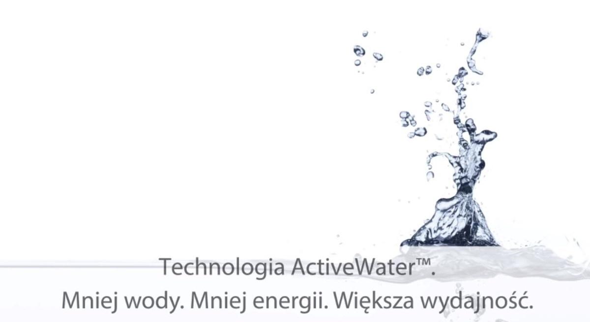Działanie technologii Active Water w sprzętach Boscha
