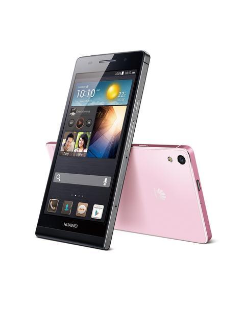 HUAWEI Ascend P6 - bardzo smukły i funkcjonalny smartfon