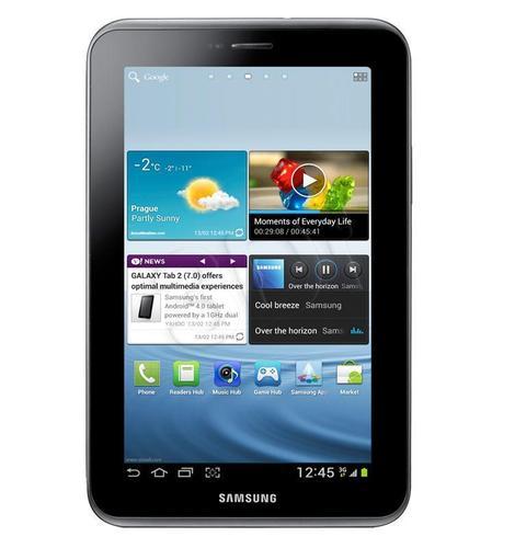 Samsung Galaxy Tab 2 7.0 (P3110) 8GB silver (WYPRZ)