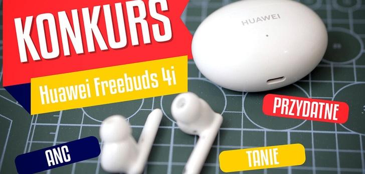 Huawei Freebuds 4i - Przydatne, tanie słuchawki z ANC i konkurs!