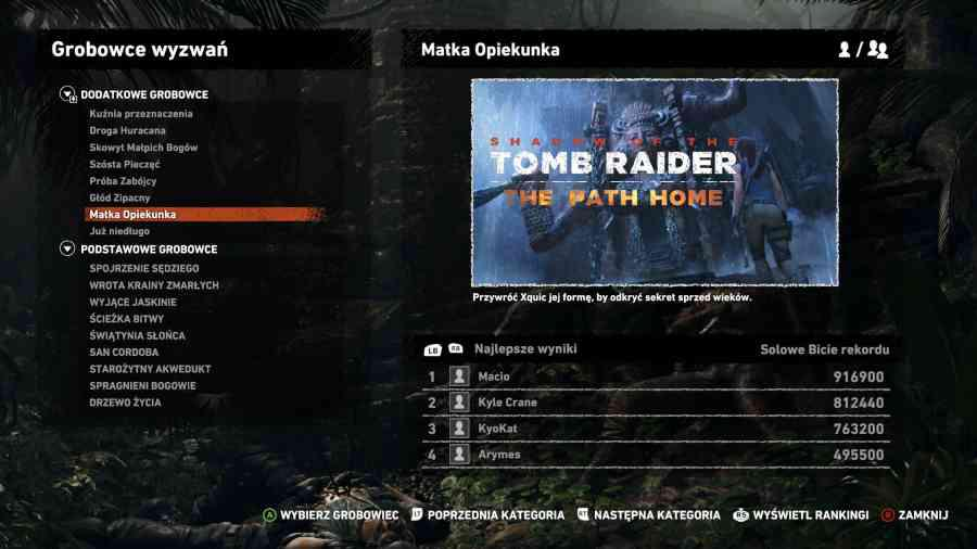 Shadow of the Tomb Raider - Czy to, aby na pewno koniec?
