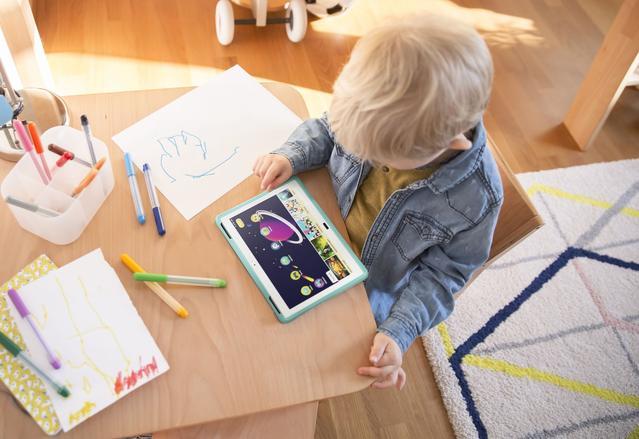 Również dziecko skorzysta z nowych tabletów Lenovo.