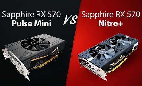 Którą Kartę Graficzną Wybrać - Sapphire RX 570 Pulse Mini vs Sapphire RX 570 Nitro+