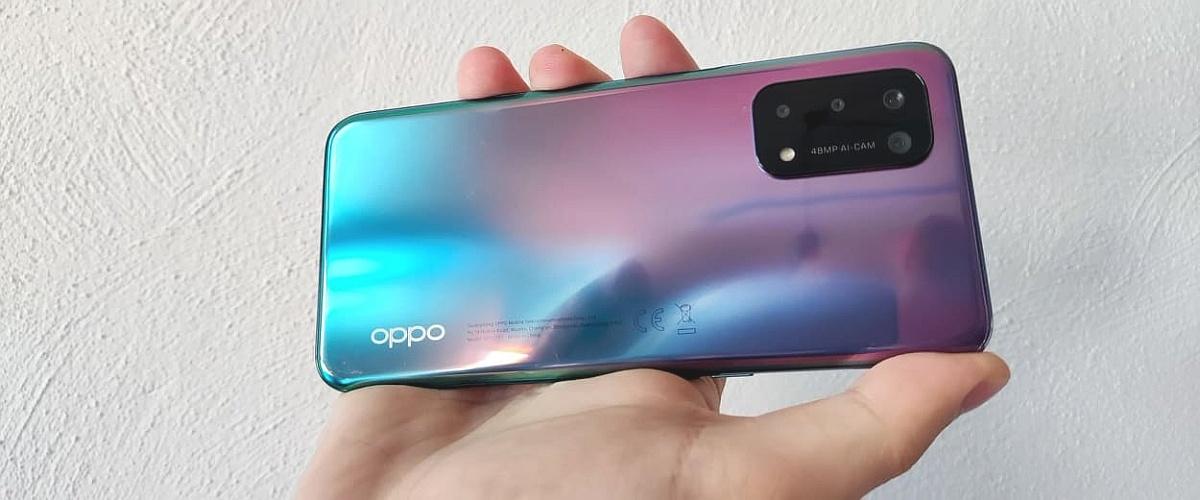OPPO A54 5G wyróżnia się kolorem