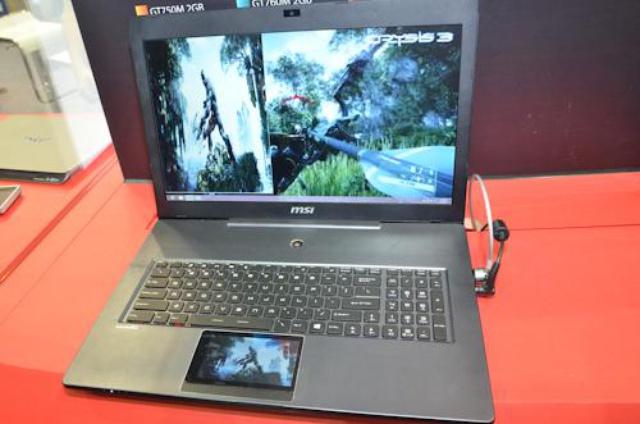Laptop dla graczy - MSI GS60