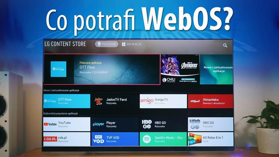 Co potrafi WebOS 4.5 w telewizorach LG OLED?
