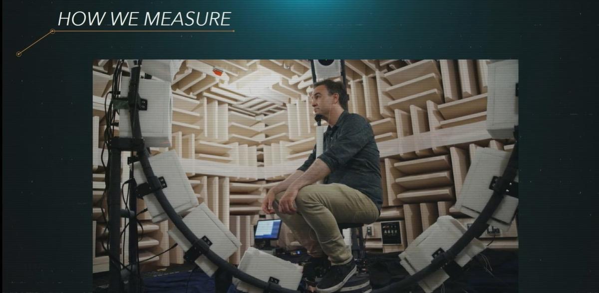 Ponad 20 głośników wykorzystano do tworzenia profili dźwiękowych