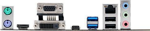 Asus B150M-A, B150, DDR4, SATA3, HDMI, DVI, D-Sub, mATX