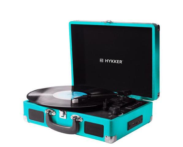 Tak prezentuje się gramofon od Hykkera.