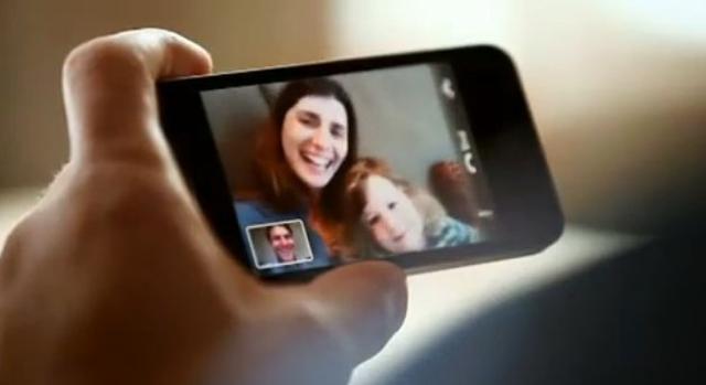 Apple iPhone 4 - funkcja FaceTime, czyli wideororozmowy