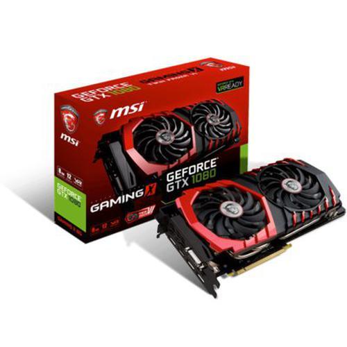 MSI GeForce CUDA GTX1080 8GB DDR5 256BIT DVI/HDMI/3DP BOX