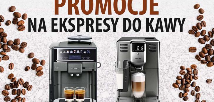 Kwietniowe promocje na ekspresy do kawy