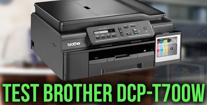 Test Wielofunkcyjnego Urządzenia Atramentowego Brother DCP-T700W
