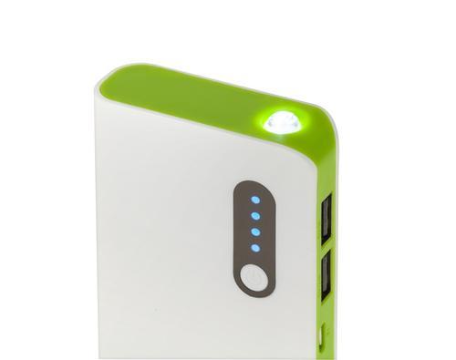 M-LIFE Uniwersalny zasilacz z baterią awaryjną POWER BANK 10000mAh M-LIFE z kablem