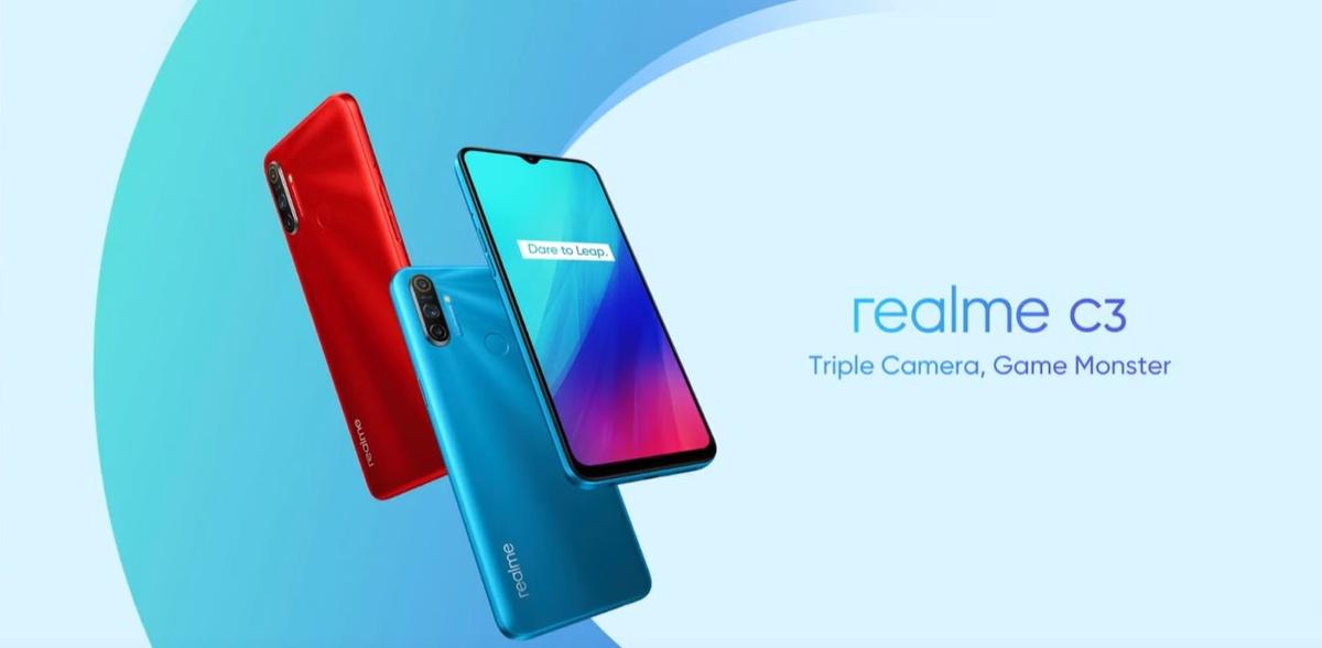 Frozen Blue to jedyny kolor, w jakim Realme C3 jest na razie dostępny
