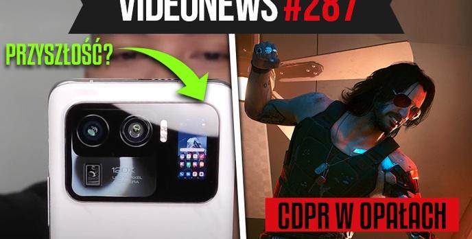 Ekran w wyspie aparatów, CD Projekt RED okradziony - VideoNews #287