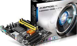 ASRock N68C-GS4 FX, GF7025, AM3+/AM2+, PCX, GLAN, SATA2, USB2, RAID, DDR3, mATX (N68C-GS4 FX)