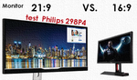 Monitor 16:9 czy 21:9 - Test Philips 298P4