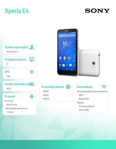 Sony Xperia E4 White