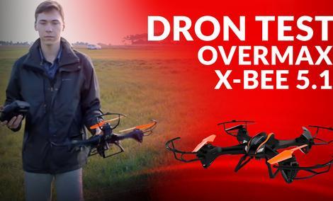 Recenzja Drona Overmax X-bee Drone 5.1