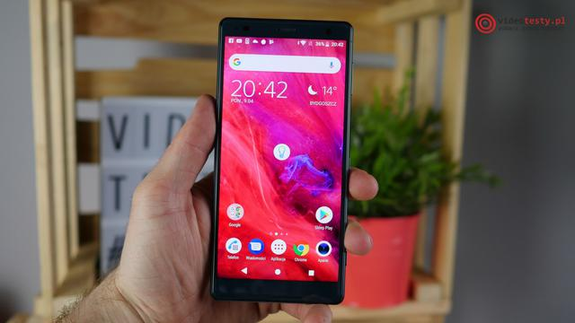 Sony Xperia XZ2 desing hands on