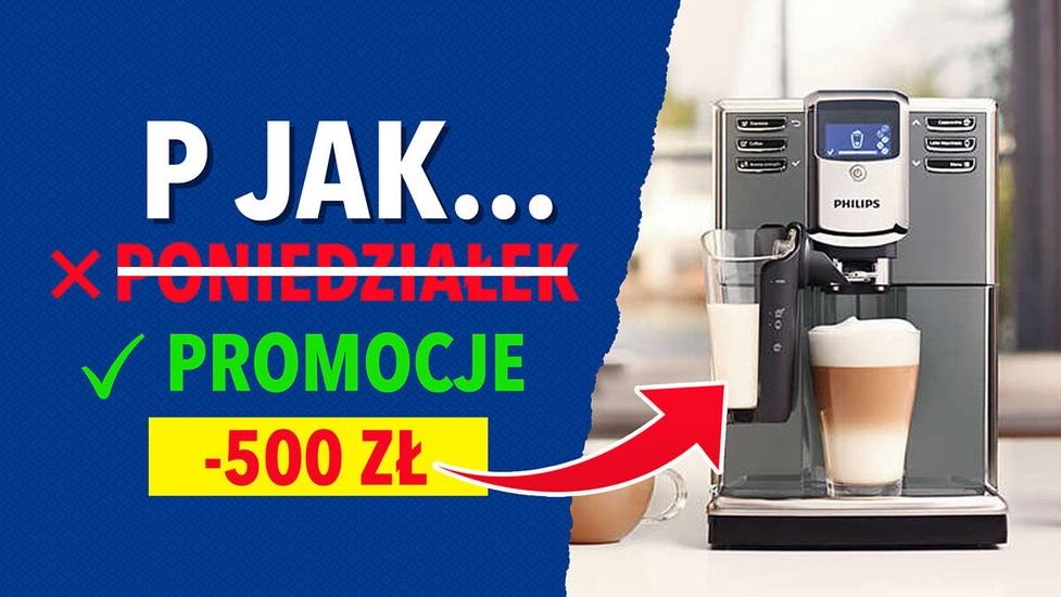 Ekspres Philips 500 zł taniej! Szybkie promocje w RTV Euro AGD