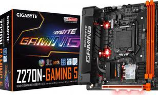 Gigabyte GA-Z270N-Gaming , Z270, USB 3.1, DDR4, SATA3, Mini ITX