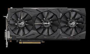 Asus Radeon RX Vega 64 ROG STRIX O8G Gaming, 8192 MB HBM2 (90YV0B00-M0NM00)