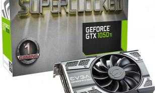 EVGA GeForce GTX 1050 Ti SC GAMING 4GB GDDR5 (128 Bit) DP, HDMI, DVI-D, BOX (04G-P4-6253-KR)