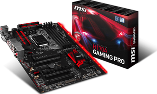 MSI H170A GAMING PRO, H170, DualDDR4-2133, SATA3, SATAe, HDMI, DVI, USB 3.1, ATX (H170A GAMING PRO)