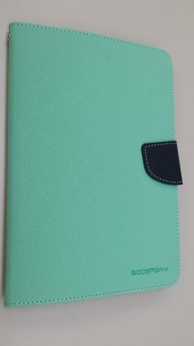 """WEL.COM Etui Fancy Diary do Galaxy Tab S 10.5"""" miętowo-granatowe"""