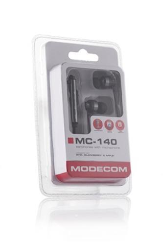 Modecom SŁUCHAWKI DOUSZNE Z MIKROFONEM MC-140 BLACK
