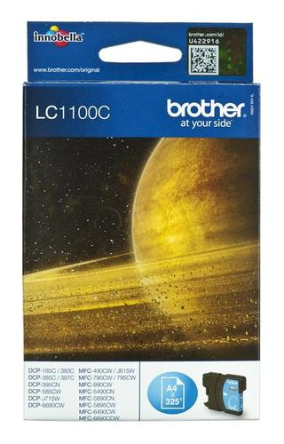 BROTHER Tusz Niebieski LC1100C=LC-1100C, 325 str.