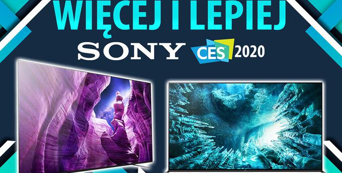 Telewizory Sony na CES 2020 - Wśród nowości bardzo mały OLED 4K