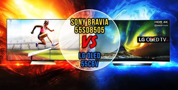 """Sony Czy LG? – Porównujemy 55"""" Telewizory z Zakrzywionym Ekranem"""