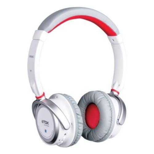 TDK Słuchawki z mikrofonem bezprzewodowe WR680 Bluetooth białe