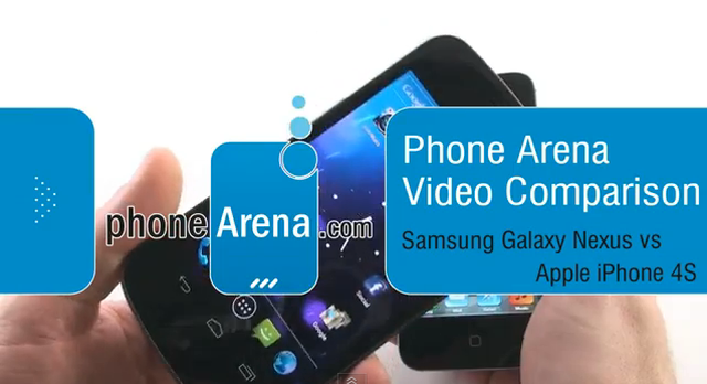 Samsung Galaxy Nexus vs Apple iPhone 4S