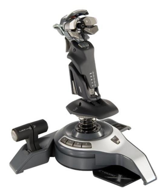 Saitek Cyborg X Fly 5 - poczuj się jak prawdziwy pilot dzieki niezwykłemu joystickowi